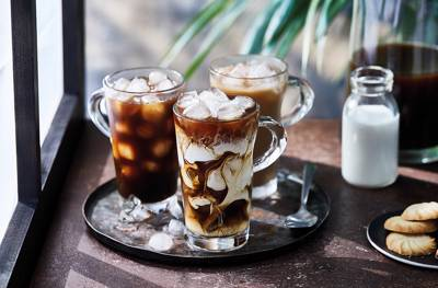 پنج نوشیدنی خنک بر پایه قهوه