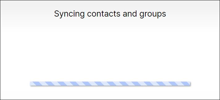 همگام سازی تماسها با دسکتاپ
