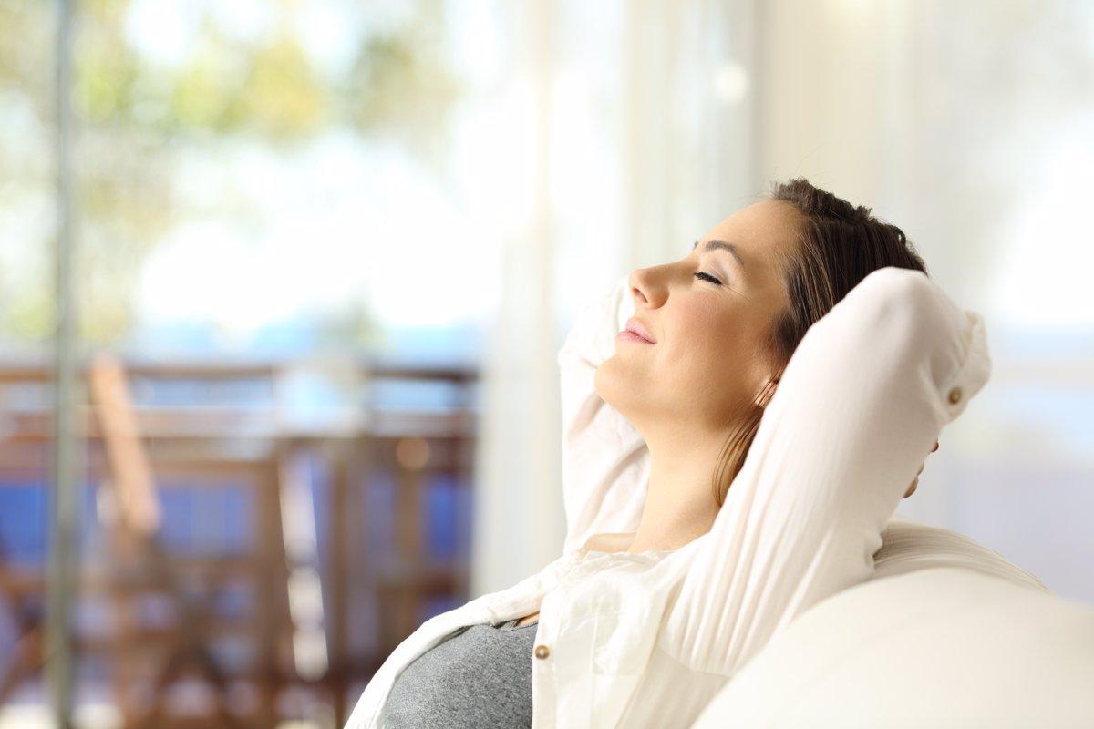تمرین درست نفس کشیدنقبل از خواب