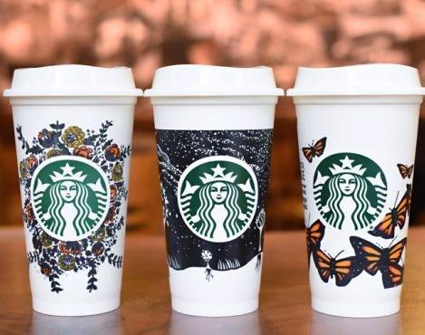 لیوان های مخصوص استارباکس