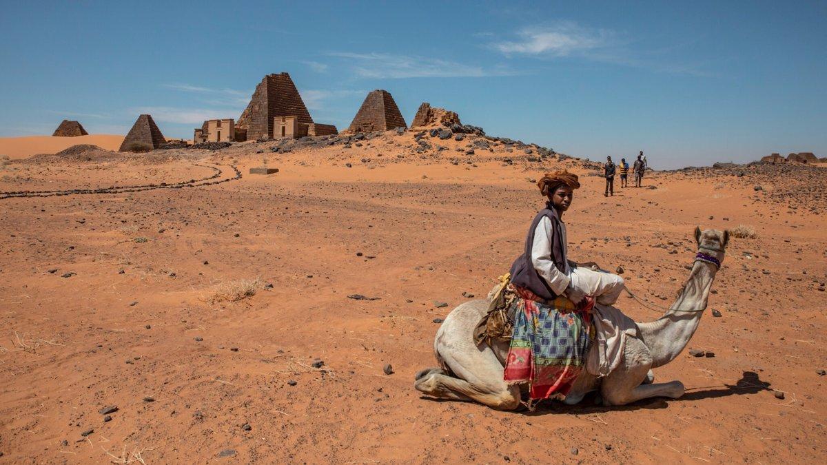 اهرام فراموش شده مروی در سودان