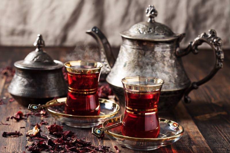 چای لب دوز و لب سوز ایرانی