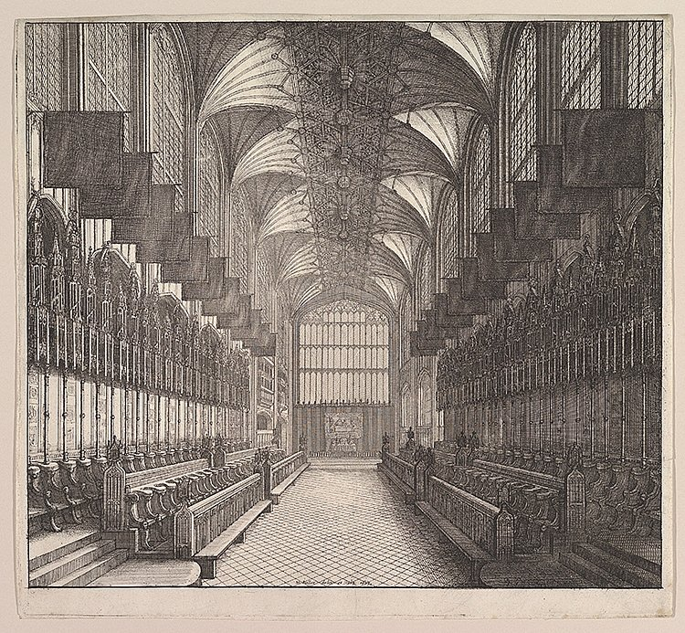 کلیسای سِنت جورج، که توسط ونزلاوس هولار در سال 1663 ساخته شد.