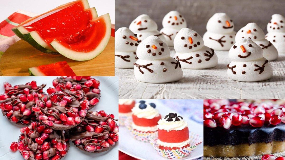 شیرینی های امروزی شب یلدا