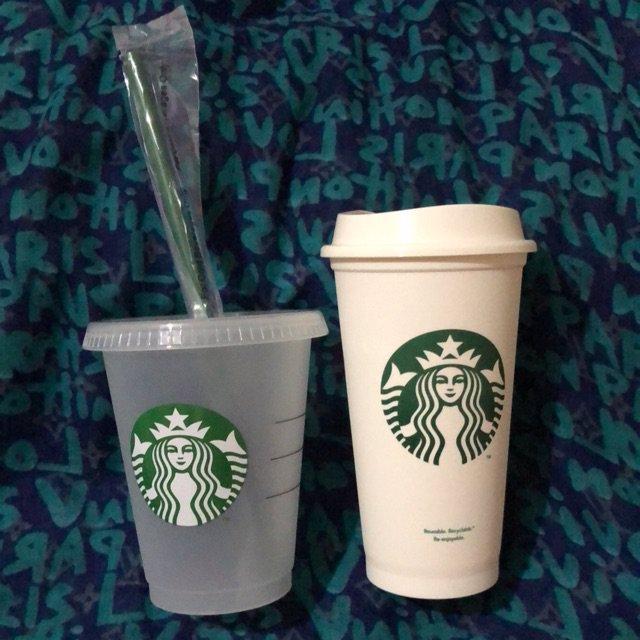 لیوان های مخصوص و قابلل استفاده مجدد نوشیدنی های سرد و گرم استارباکس
