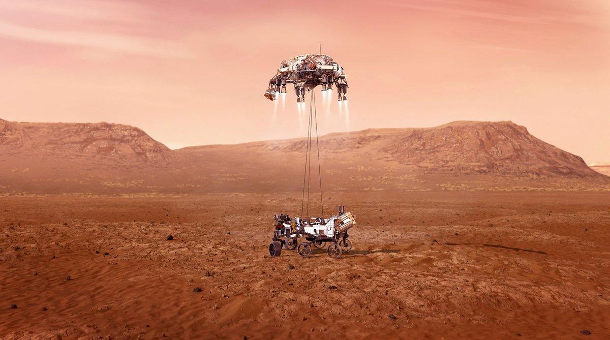 فرود مریخ نورد پرسویرنس ناسا 8 ماه پس از پرتاب