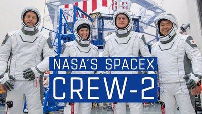 پوشش دهی رسانه ای مأموریت  SpaceX Crew-2 ناسا