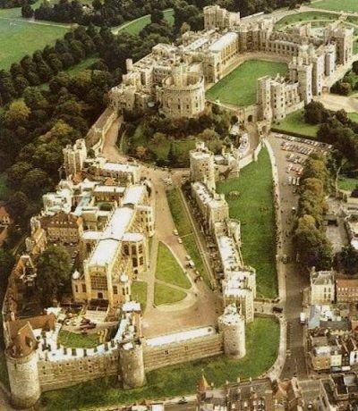قلعه وینزر از بالا