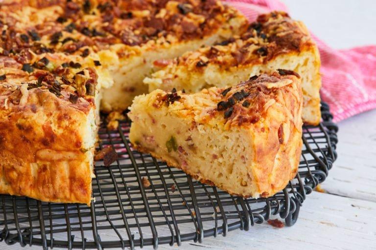 نان سیب زمینی خانگی (بدون خمیر مایع!)