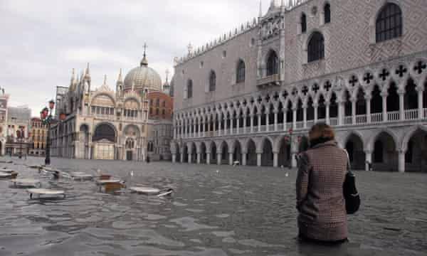 غرق شدن تدریجی شهر ونیز