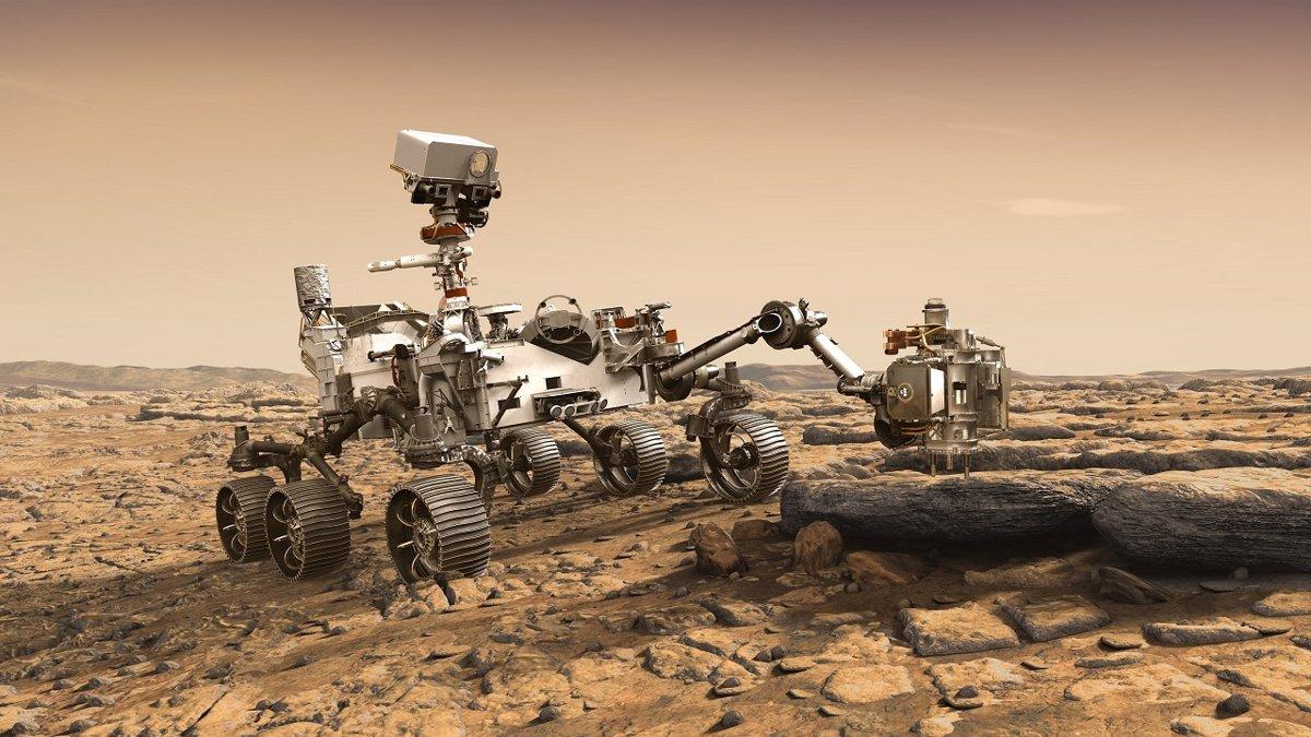 مریخ نورد پرسیویرنس ناسا 2020