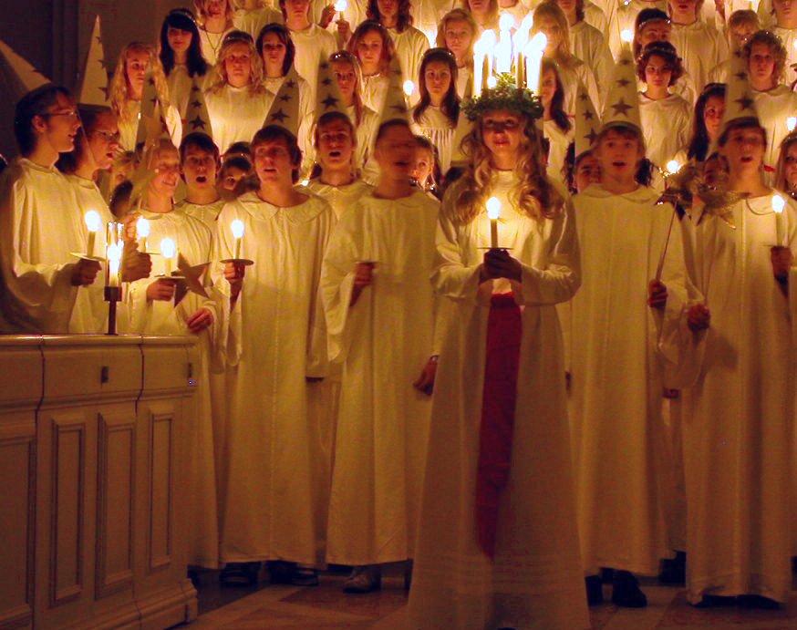 مراسم سنت لوسیا