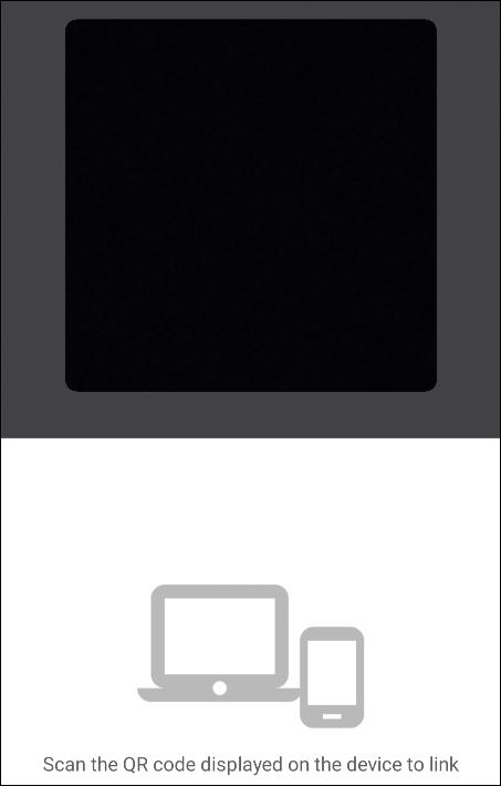 تنظیم دوربین گوشی بر روی کد QR
