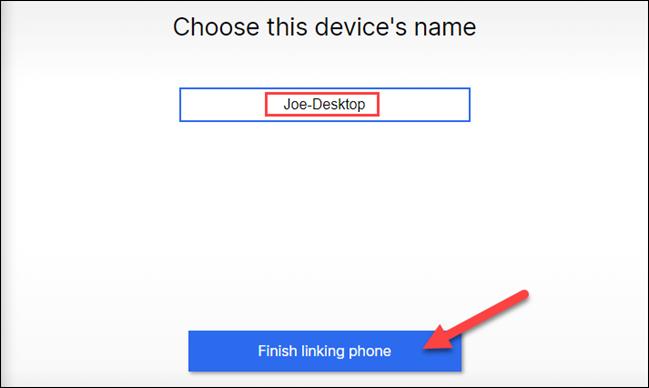 درخواست انتخاب نام برای کامپیوتر خود