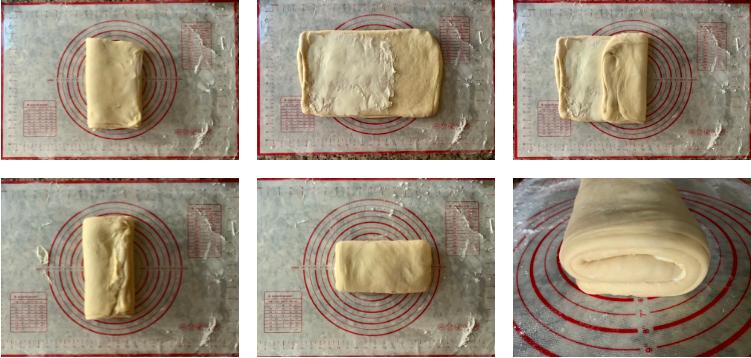 شکل دادن خمیر و پیچیدن دانمارکی ها 2