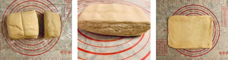 شکل دادن خمیر و پیچیدن دانمارکی ها 3