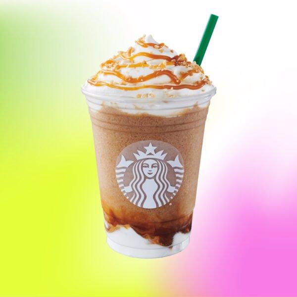 Caramel Ribbon Crunch Frappuccino