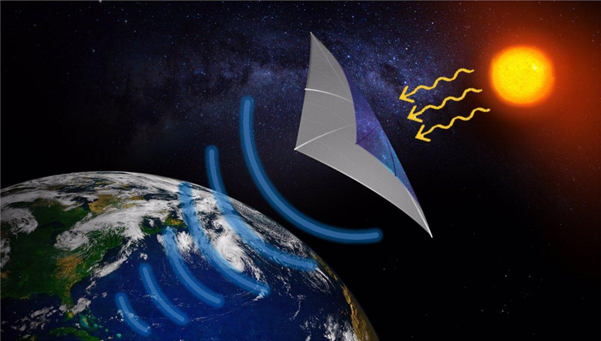 ارسال انرژی خورشیدی از فضا به زمین