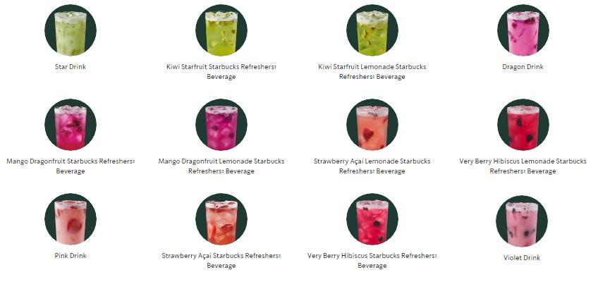 12 نوشیدنی خنک استارباکس برای تابستان