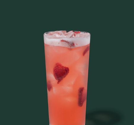 Strawberry Açaí Lemonade Starbucks Refreshers® Beverage