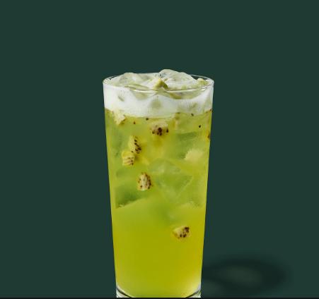 Kiwi Starfruit Lemonade Starbucks Refreshers® Beverage