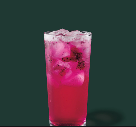 Mango Dragonfruit Starbucks Refreshers® Beverage