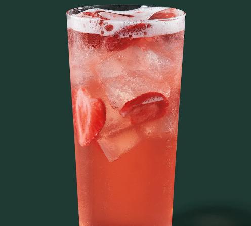 Strawberry Açaí Starbucks Refreshers® Beverage