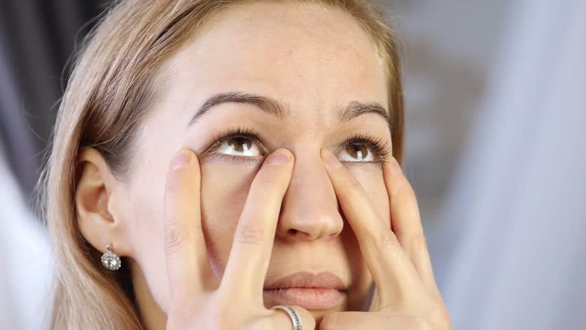 یوگای پلکهای چشم