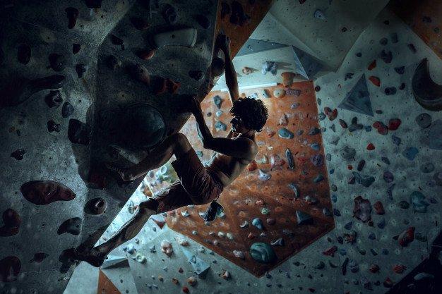 صخره نوردی تمرینی سرگرم کننده و مهیج
