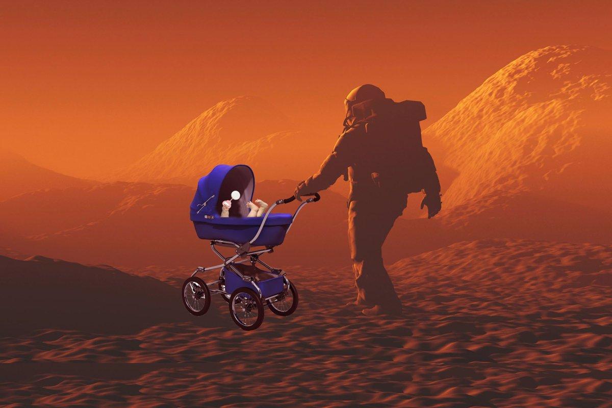 آیا انسان قادر بهتولید مثل در مریخ خواهد بود؟