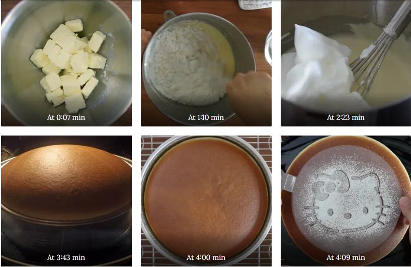 طرز تهیه چیز کیک ژاپنی