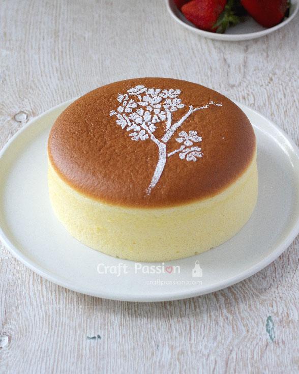 چیز کیک ژاپنی