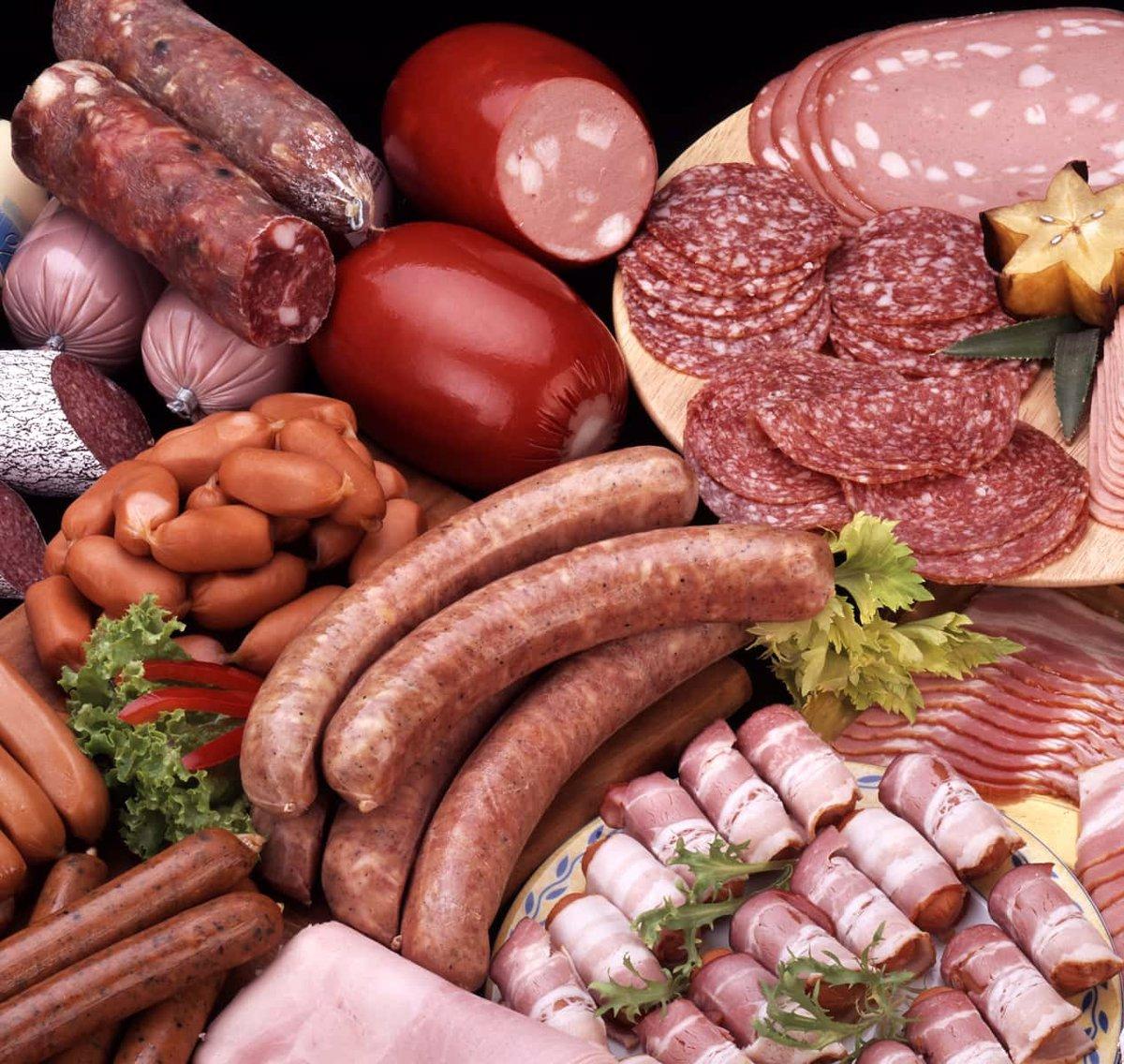 خوردن گوشت فرآوری شده