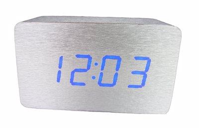 ساعت دیجیتال رومیزی سیلور (نقرهای)