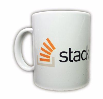 ماگ طرح لوگو Stack Overflow ویژه برنامه نویسان