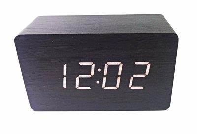 ساعت دیجیتال رومیزی مشکی